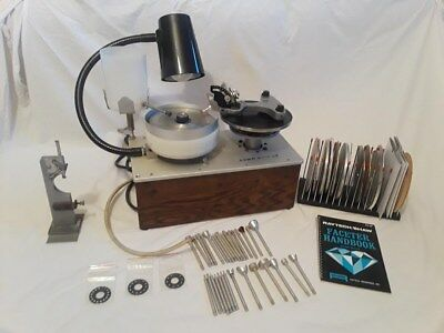 RAYTECH SHAW FACETER Faceting Machine Lapidary Gem Cutting