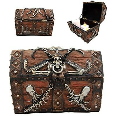 4301a6c2d22 Decorative Boxes Atlantic Collectibles Caribbean Kraken Octopus Pirate  Haunted