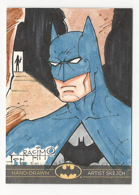 Batman: The Legend 2013 Cryptozoic DC Sketch Card by Jon Racimo 1/1