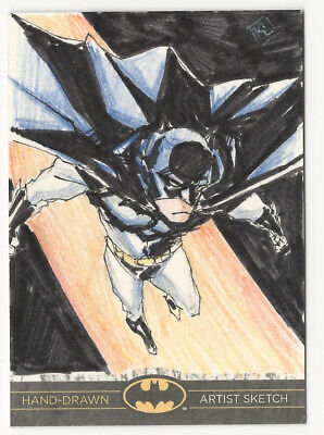 Batman: The Legend 2013 Cryptozoic DC Sketch Card by Kathryn Layno 1/1