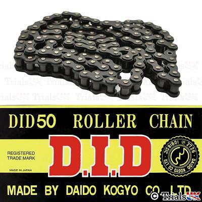 DID 520 Pitch Black Chain - Super Heavy Duty - 102 or 106 Links