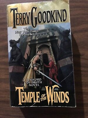 TEMPLE OF THE WINDS PAPERBACK BOOK BY TERRY GOODKIND Ex Library