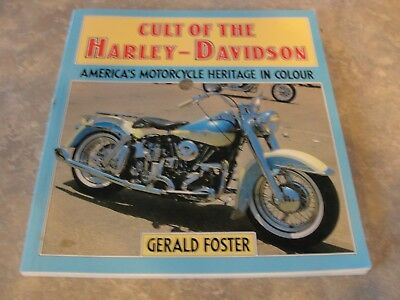 VINTAGE1982  CULT OF THE  HARLEY DAVIDSON   BOOK PHOTOS Collectable