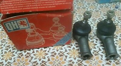 FORD FIESTA MK2 ORION ESCORT/ COPPIA TESTA TESTINA STERZO / head tie rod