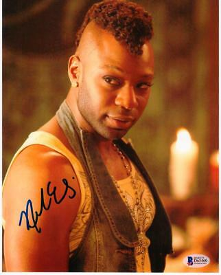 Nelsan Ellis Signed 8x10 Photo Lafayette Reynolds True Blood Beckett