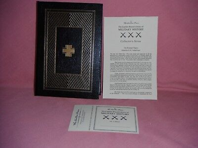 Easton Press THE ROMMEL PAPERS w. Notes/Bookplate-WWII Desert Fox- Excellent!