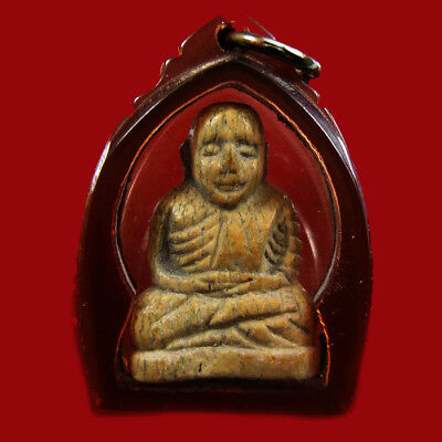 Lp Ngern Thai Amulet For Money Buddha Lucky Pendant For Success Pendants