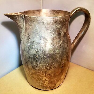 Paul Revere? Style Silverplated Pitcher unmarked
