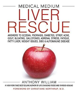 Medical Medium Liver Rescue by Anthony William Hardcover Health FREE FAST SHIPP