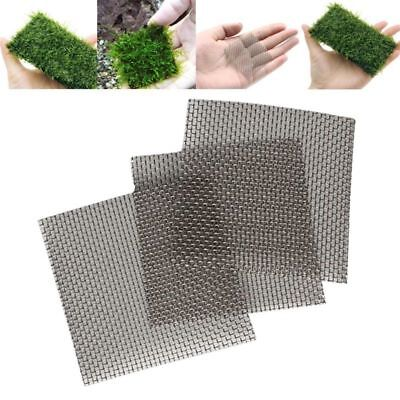 Aquarium Fish Tank Stainless Steel Wire Mesh Pad Plants Moss Net Aquascape