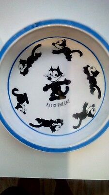 Vintage 20s Felix The Cat Dish/bowl