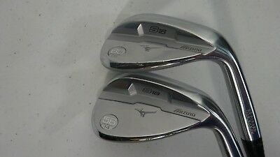 Mizuno Golf S18 White Satin 56* & 60* Dynamic Gold Wedge Flex M/C Grip