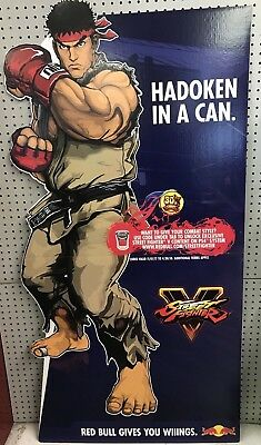 Red Bull Street fighter V Ryu cut out