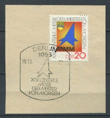Germany - DDR : Masters of tommorrow fair stamp from 1982 - Special