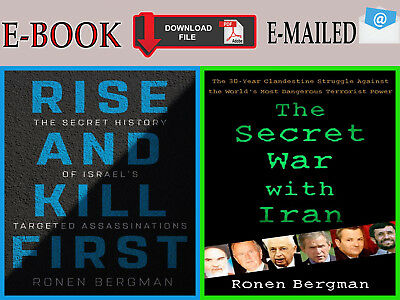 "{E-B00K""PDF} RISE And KILL First + The Secret War with IRAN SET by Ronen Bergma"