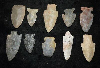 One Random Authentic Indian Arrowhead Found in E Tennessee Ex Buetell R44
