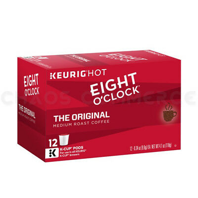 Eight O'Clock Coffee Keurig K-Cups Pods 72 Count Pods - ORIGINAL Medium Roast