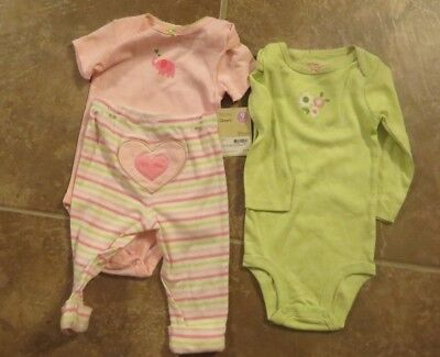 Outfits & Sets Clothing, Shoes & Accessories Bnwot Carters Baby Girl 3 Piece Outfit Size 3 Months