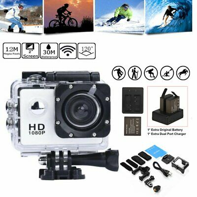 SJ5000 1080P HD Sports Action Camera 2.0 Inch Camcorder Go Car Cam Pro + Battery