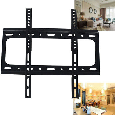 Universal Home TV Stand Bracket LCD LED Plasma Mount Pedestal Desktop Monitors