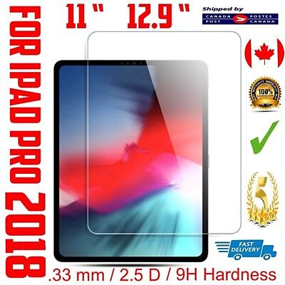 Premium Tempered Glass Screen Protector For Apple iPad PRO 2018 11 ″ 12.9 ″