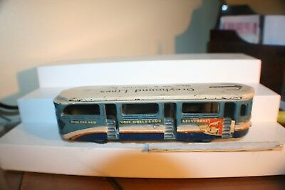 RARE 1939 New York Worlds Fair Cast Iron Greyhound Bus HTF BIN