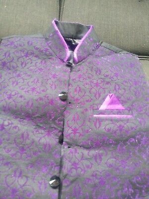 Mens Indian Kurta Jacket , Size Large