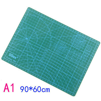 A1 PVC Self Healing Cutting Mat Craft Quilting Grid Lines Printed Board Thicken