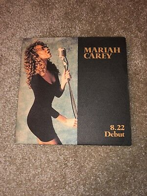 Mariah Carey 8.22 Debut Promo Promotional Single Emotions Musicbox Daydream