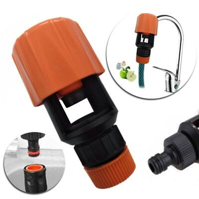Universal Tap To Garden Hose Pipe Connector Mixer Kitchen Bath Tap Adapter NEW