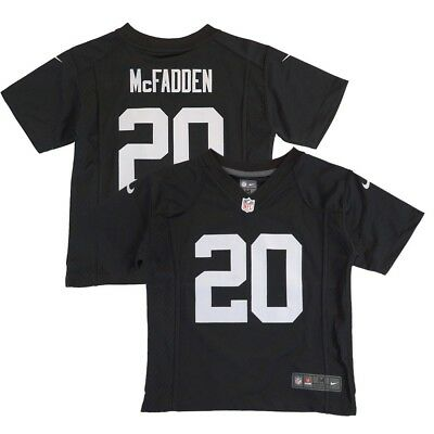 OAKLAND RAIDERS FOOTBALL NFL NIKE Darren McFadden  20 Game Jersey ... de8b5e489