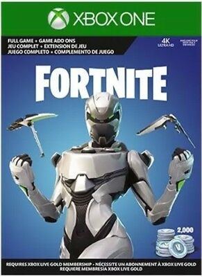 Fortnite Xbox One Econ Cosmetic Set Skin+2000 V-Bucks ONLY (NO CONSOLE)
