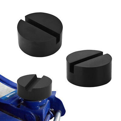 2X Rubber Pad Rubber Block Hydraulic Ramp Jacking pads Trolley Jack Adapter Lift