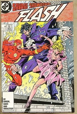 Flash #2-1987 nm- 9.2 Vandal Savage Mike Baron Cyborg cameo DC Comics