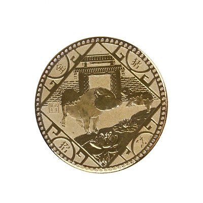 Year of the pig gold 2019 chinese zodiac coin anniversary coins souvenir coinsJc