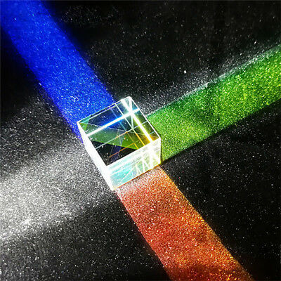 X-CUBE Prism Edge Optical Glass Square Dispersing Beam Splitter Cube Healthy