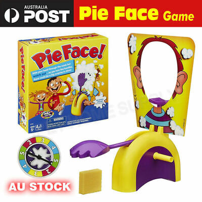Pie Face Game Family Fun Filled Rocket Board Party Game Suspense Pie-throwing
