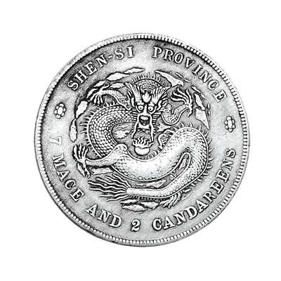 Silver Chinese Dragon Commemorative Coin Collection Memorial Coins Gifts new