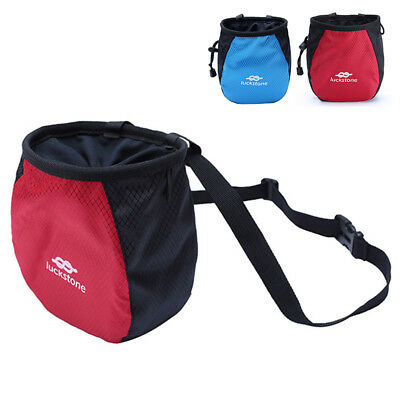 For Rock Climbing Bag With Drawstring Outdoor Adjustable Chalk Magnesium Powder