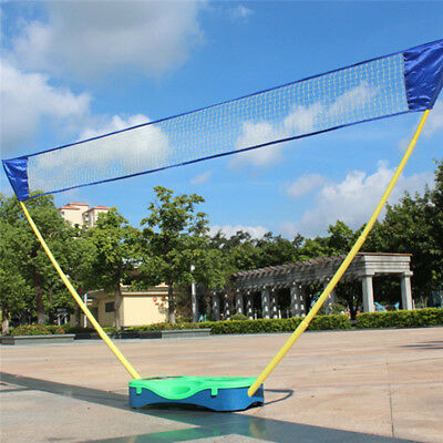 3in1 Outdoor Sport Badminton Tennis Volleyball Net Portable Stand Battledore Set