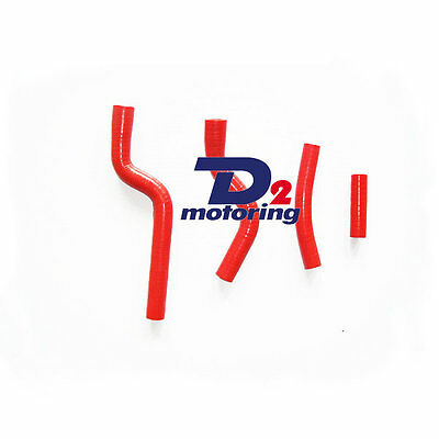Silicone RADIATOR HOSE FOR Yamaha YZF250 YZ250F YZF 250 07-09 RED