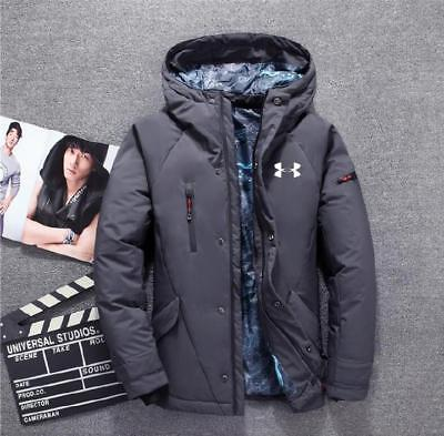 New Under Armour Men's Winter Warm Thick  Duck Down Jacket Hooded Coat  685#