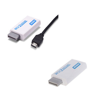 Wii To HDMI Upscale HD 1080P Adapter Cable 3.5Mm Audio Wii2hdmi Converter HDTV