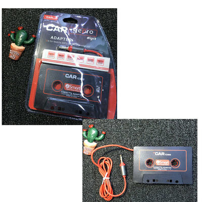 Car Casette Tape 3.5Mm AUX Audio Adapter MP3 Player Tape Converter Iphone Ipod