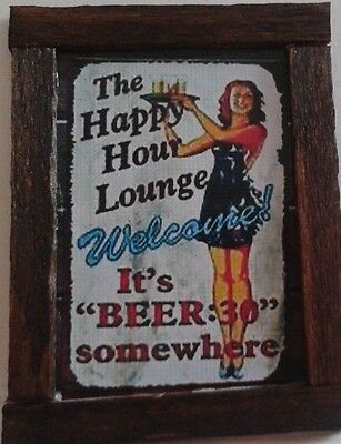Dolls House A Beer Sign