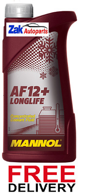 Mannol Longlife Antifreeze Concentrated Coolant Fluid 1 Litre *new*