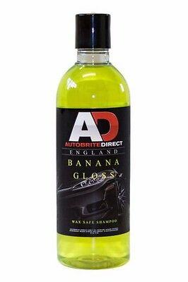 Autobrite Direct Banana Gloss Shampoo - Car Wash Detailing Valet 500ml