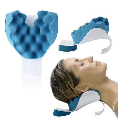 Massage Neck shoulder relaxation pillow Orthopaedic Pain Relief Upper Spine
