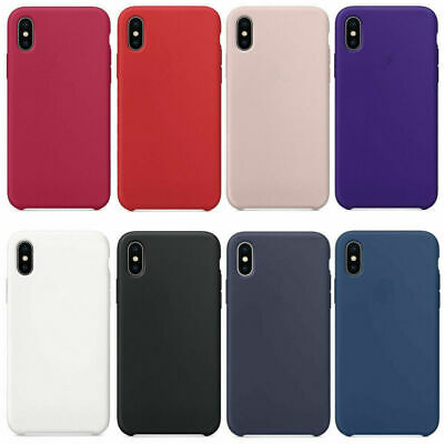 Silicone Case For Apple IPhone 8 Plus X 7 6 5 5S SE Soft Cover