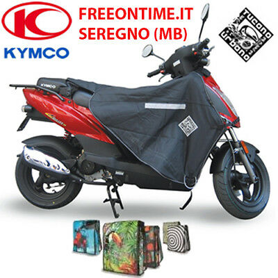 Couvre-Jambes Termoscud Couverture Tucano Urbano R166 X Kymco Xciting 300 13
